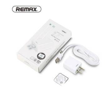 REMAX ইউনিভার্সাল ওয়ল চার্জার US Plug Single USB RP-U14 Travel charger with 2.4A 1M Micro Cable for Samsung Xiaomi Phone Charging