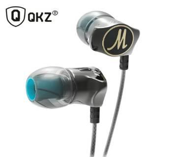 QKZ DM7 Zinc Alloy In Ear HiFi ইয়ারফোন Stereo Bass Headset