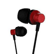REMAX RM 512 Earphone - Black and Red