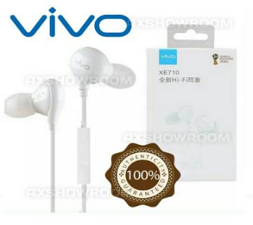 Original X21 vivo XE710 In Ear Earphone Headphone Earbuds HiFi Subwoofer