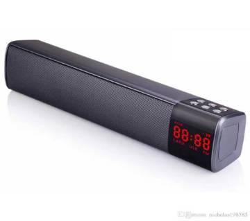 S2028 LCD ওয়্যারলেস ব্লুটুথ স্পিকার - কালো