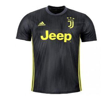 2018-19 Juventus Third Short Sleeve Jersey - Gray