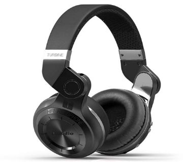 Bluedio T2 Plus Turbine Wireless Bluetooth Headphones with Mic, Micro SD Card Slot and FM Radio
