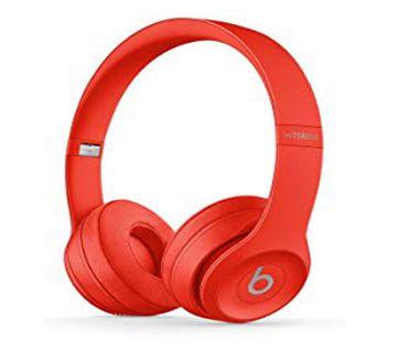 Solo 3 Wireless Bluetooth Headphone - red
