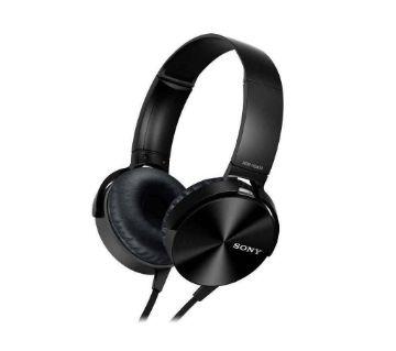SONY XB450AP Extra Bass Headphones - Black