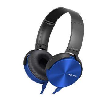 SONY XB450AP Extra Bass Headphones - Blue