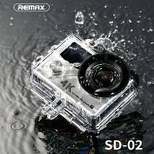 REMAX Wireless Multi-functional Waterproof HD DV 4K Action Camera