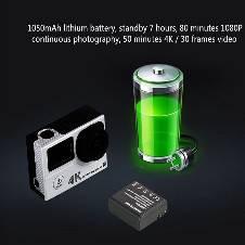 REMAX Wireless Multi-functional Waterproof HD DV 4K Action Camera বাংলাদেশ - 6969603