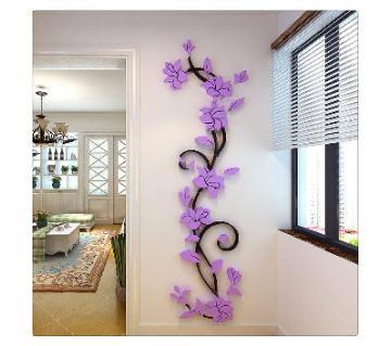 Flower vine 3D ওয়াল স্টিকার