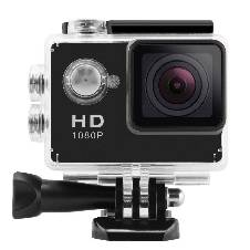Full HD 1080P Sports Camera - Black