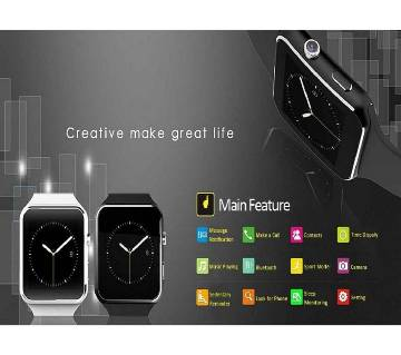 X6 Curved Screen Smartwatch