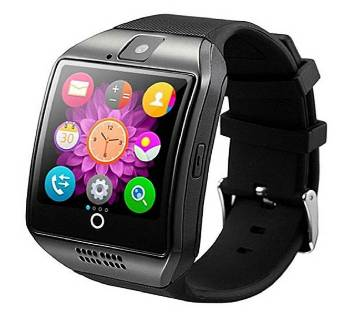 Q18 With Camera TFSIM Card Slot Bluetooth Smartwatch