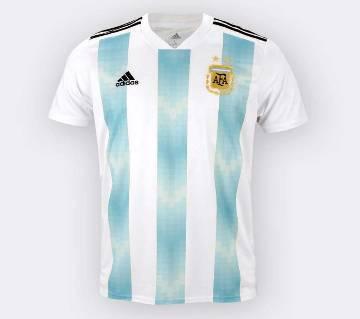 Half sleeve Argentina Jersey (Replica)