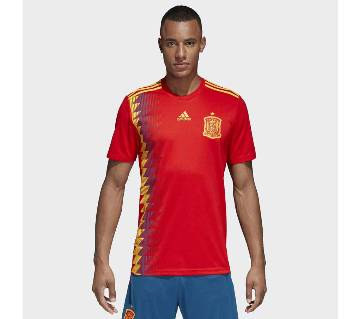 Half sleeve Spain Jersey (Replica)