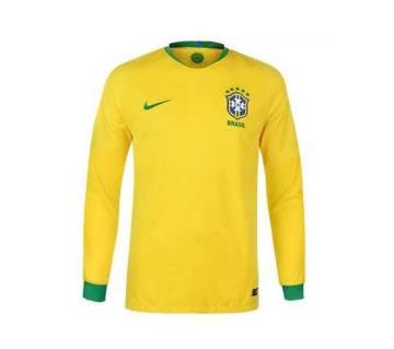 Full Sleeve Brazil Jersey (Replica)