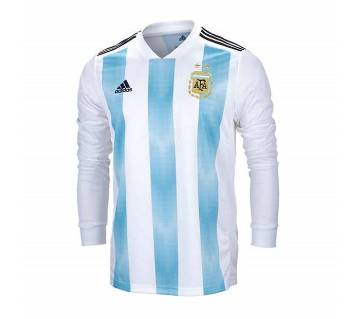 Fifa World Cup Full Sleeve Argentina Jersey 2018 - Copy