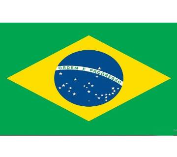 World Cup Football Brazil Flags 2018