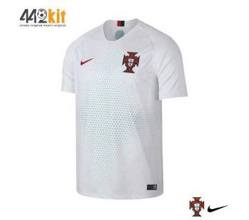 Portugal Half Sleeve World Cup Away Jersey 2018