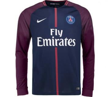 Paris Full Sleeve Home Jersey 2017 -18
