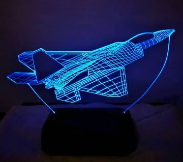 Creative 3D LED Air Craft Lamp