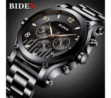 Original BIDEN Luxury Brand Quartz Chronograph Wristwatch For Men