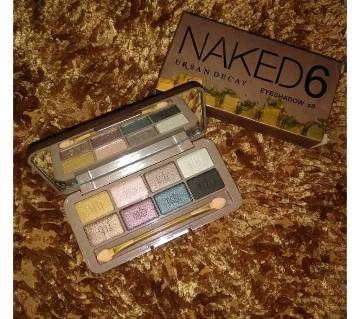 Naked6 eyeshadow (8 shade) - China