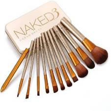 Naked3 makeup brush set China