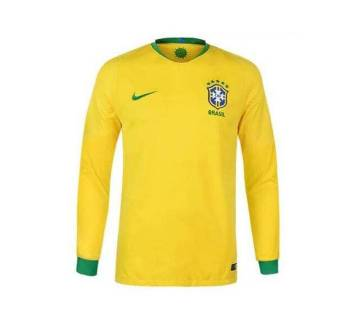 World Cup 2018 Brazil Home Jersey Full Sleeve (Copy)