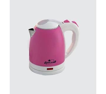 Electric Kettle ES-1.5 Liter (Mirror-Pink & White)