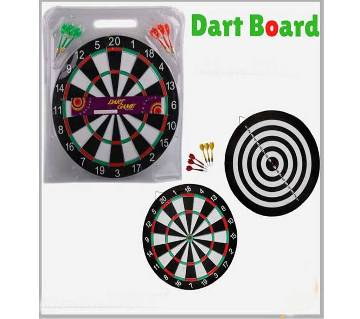 Soft Fabric And Plastic Dart Board