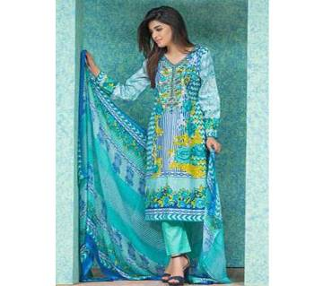 Cambric Collection Unstitched Cotton Three Piece