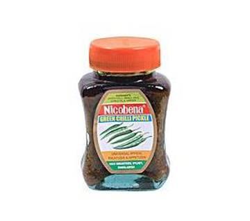 নিকোবিনা কাঁচা মরিচের আচার (300 Gm)