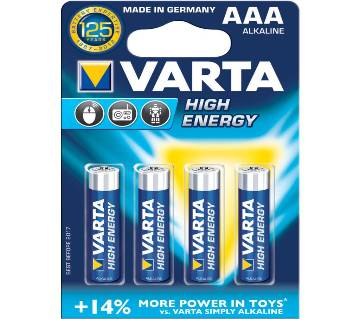 VARTA AAA alkaline Battery