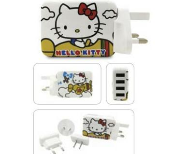 Hello Kitty Verbatim Travel Adopter