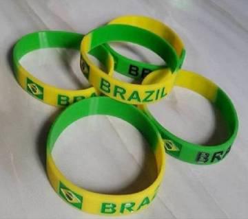 Brazil রিষ্ট ব্যান্ড- ৫ পিস