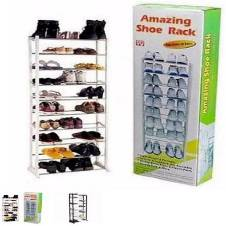 10 Lear Portable Shoe Rack