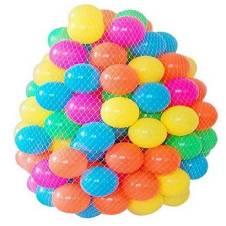 Plastic Water Pool Balls - 50pcs