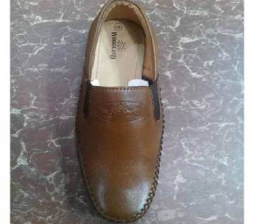 woodland leather causal shoes