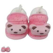 Cotton Socks for Baby - Pink and White