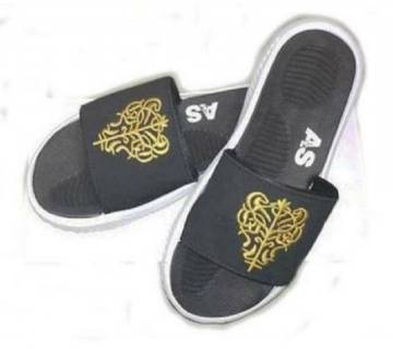 Slide sandal - black