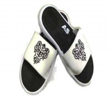 Slide Sandal - White