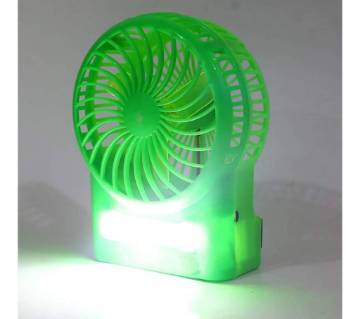 Rechargeable USB FAN & Light