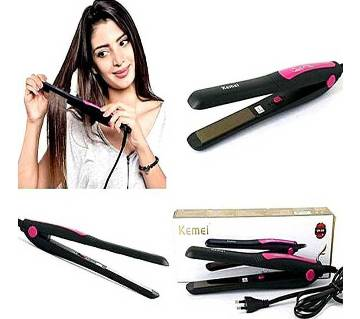 Kemei KM-328 Professional Hair Straightener for Women