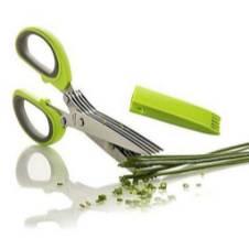 5 blades Safe grip scissors