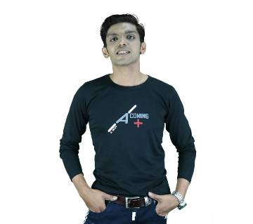 Coming Full-Sleeve Gents T-shirt