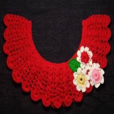 Crochet Yolk 08 - For Kids Dress