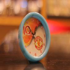 Table clock Manchester united
