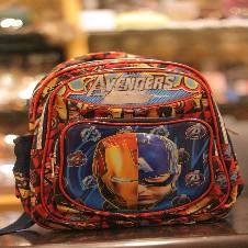 kids school bag (avenger Cartoon)