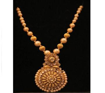 Gold Plated Antic Necklace