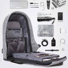 Anti Theft Design Corporate Back Pack